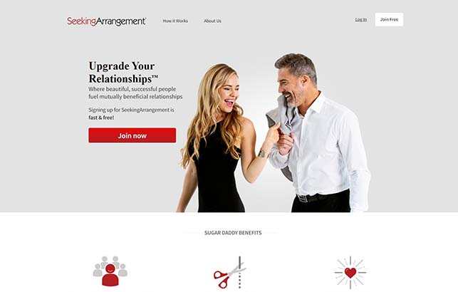 Seeking Arrangement Review   Best Free Sugar Baby Website